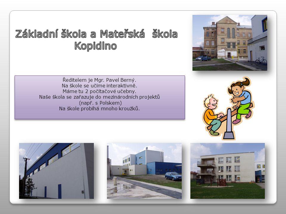 Základní škola a Mateřská škola Kopidlno
