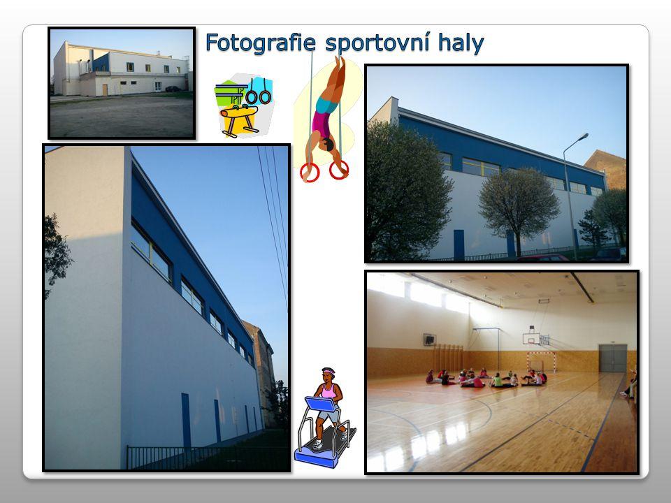 Fotografie sportovní haly