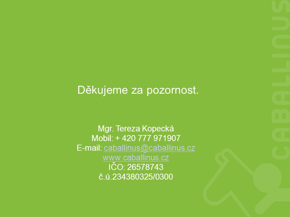 E-mail: caballinus@caballinus.cz