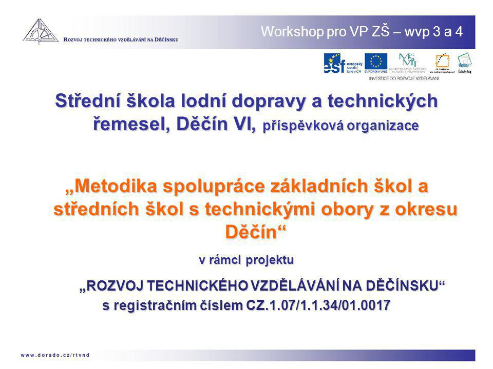 Workshop pro VP ZŠ – wvp 3 a 4