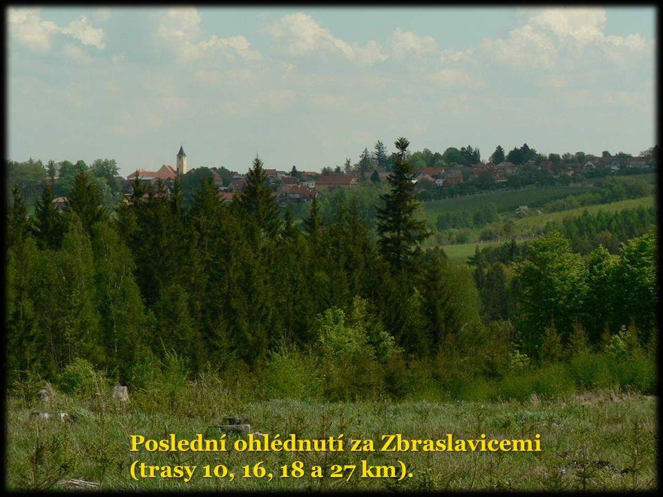 Poslední ohlédnutí za Zbraslavicemi (trasy 10, 16, 18 a 27 km).