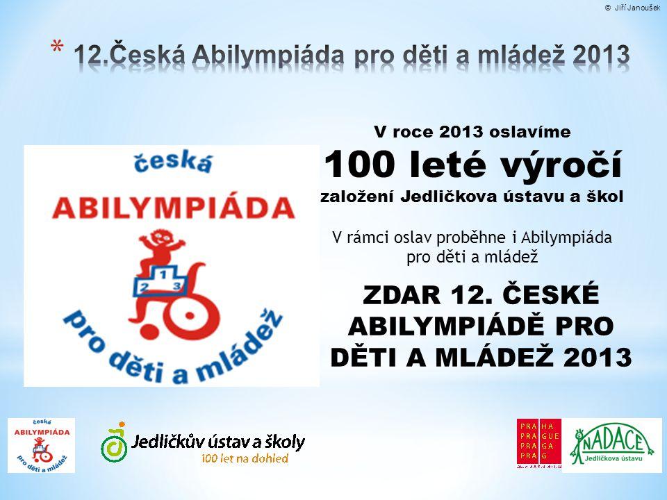 12.Česká Abilympiáda pro děti a mládež 2013