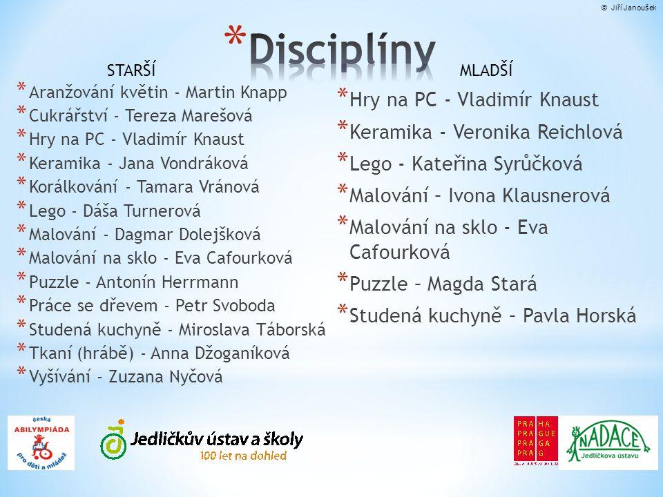Disciplíny Hry na PC - Vladimír Knaust Keramika - Veronika Reichlová
