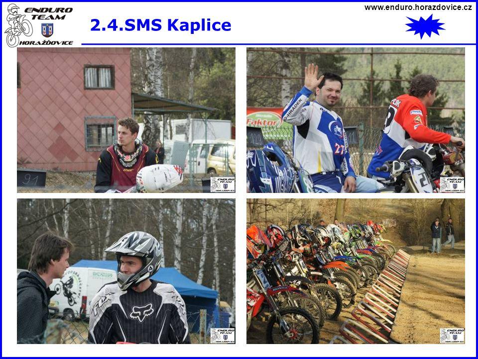 www.enduro.horazdovice.cz 2.4.SMS Kaplice
