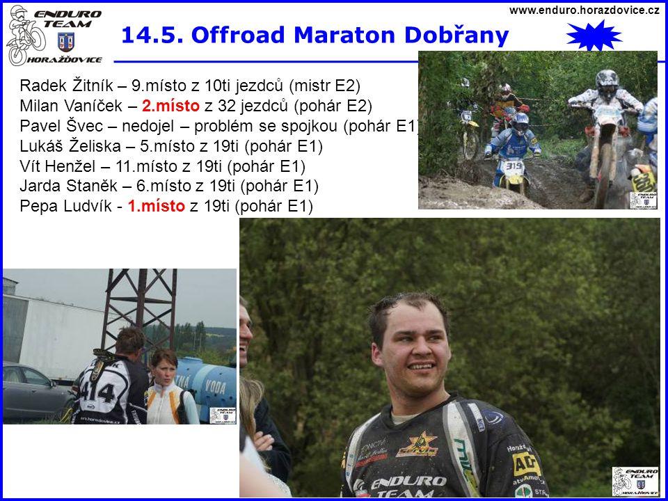 14.5. Offroad Maraton Dobřany