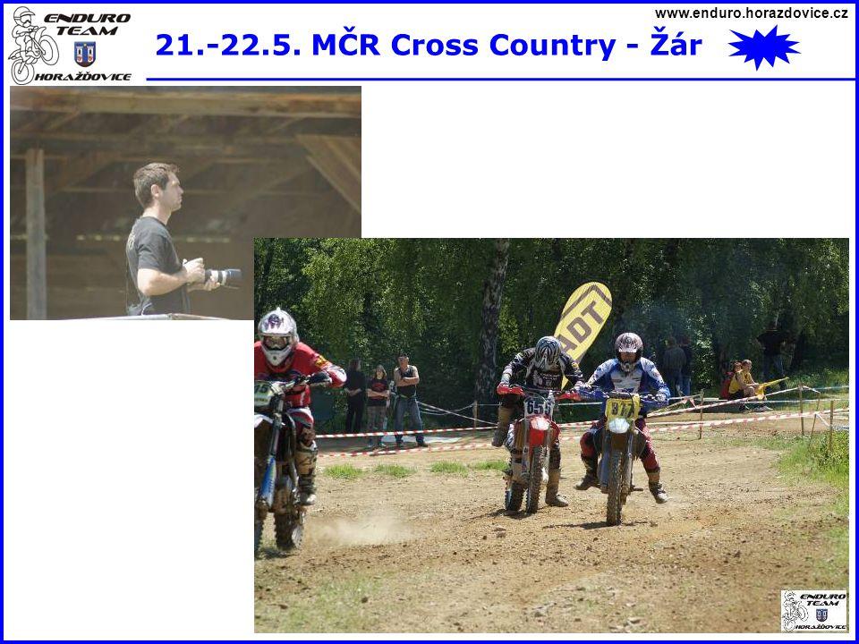 21.-22.5. MČR Cross Country - Žár