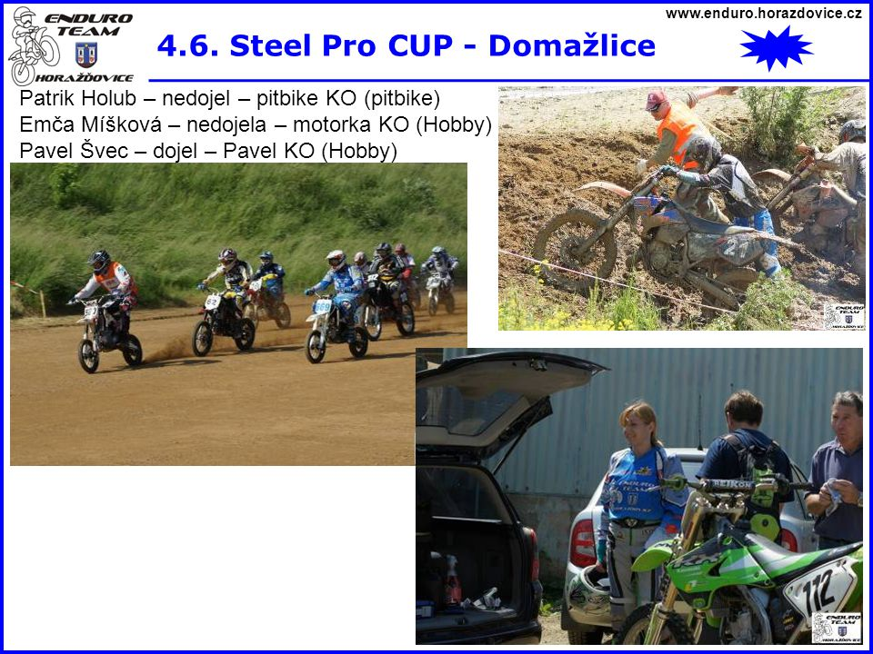 4.6. Steel Pro CUP - Domažlice