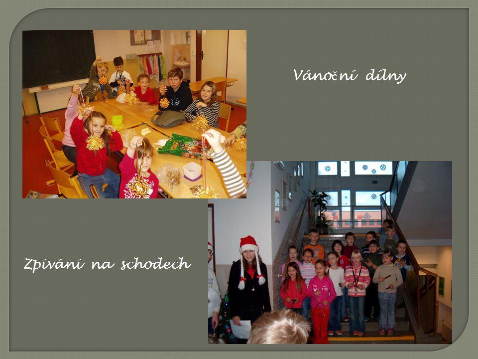 Vánoční dílny Zpívání na schodech