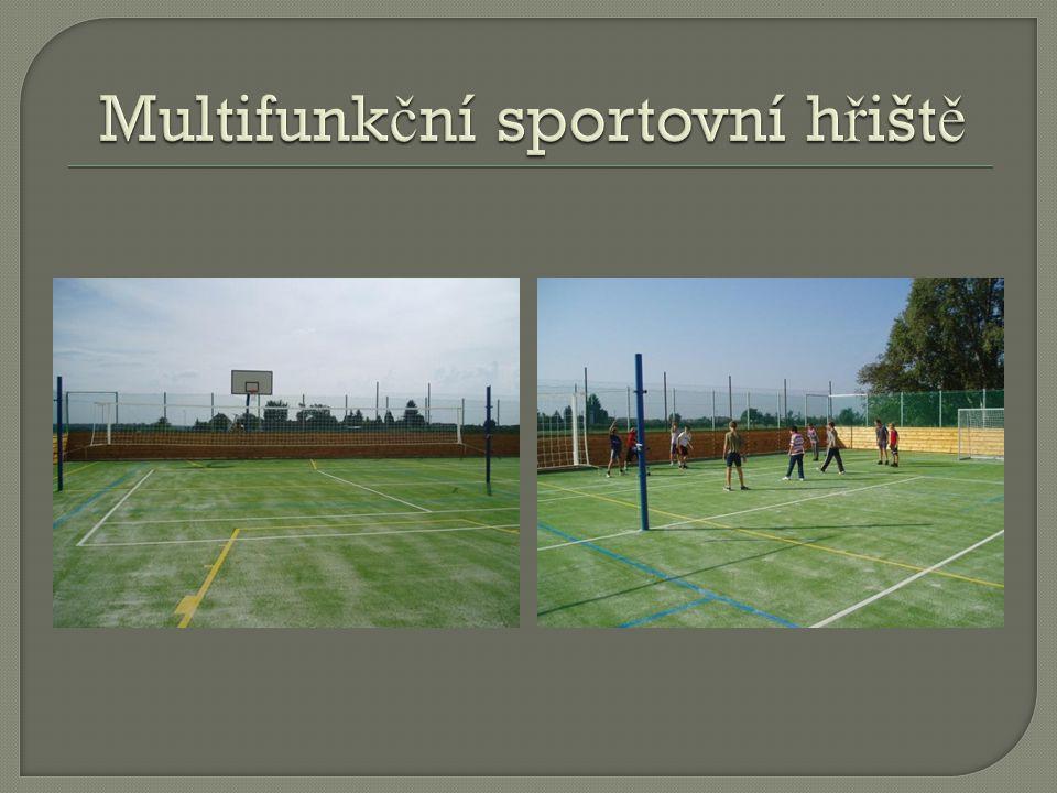 Multifunkční sportovní hřiště