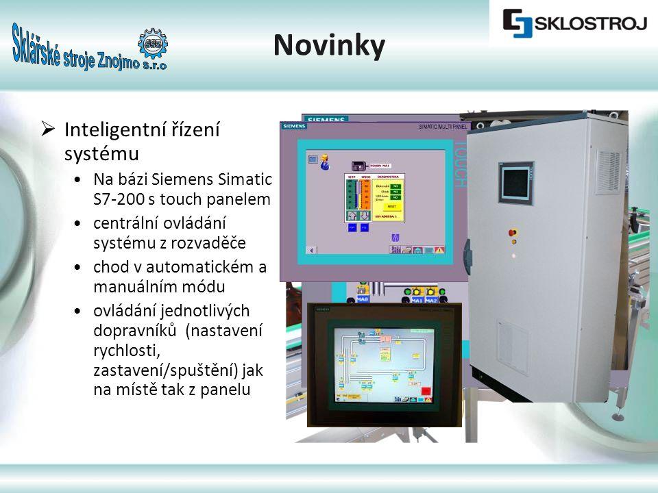 Novinky Inteligentní řízení systému