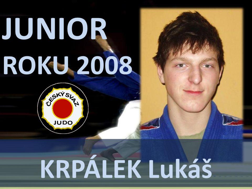 JUNIOR ROKU 2008 KrpÁLEK Lukáš
