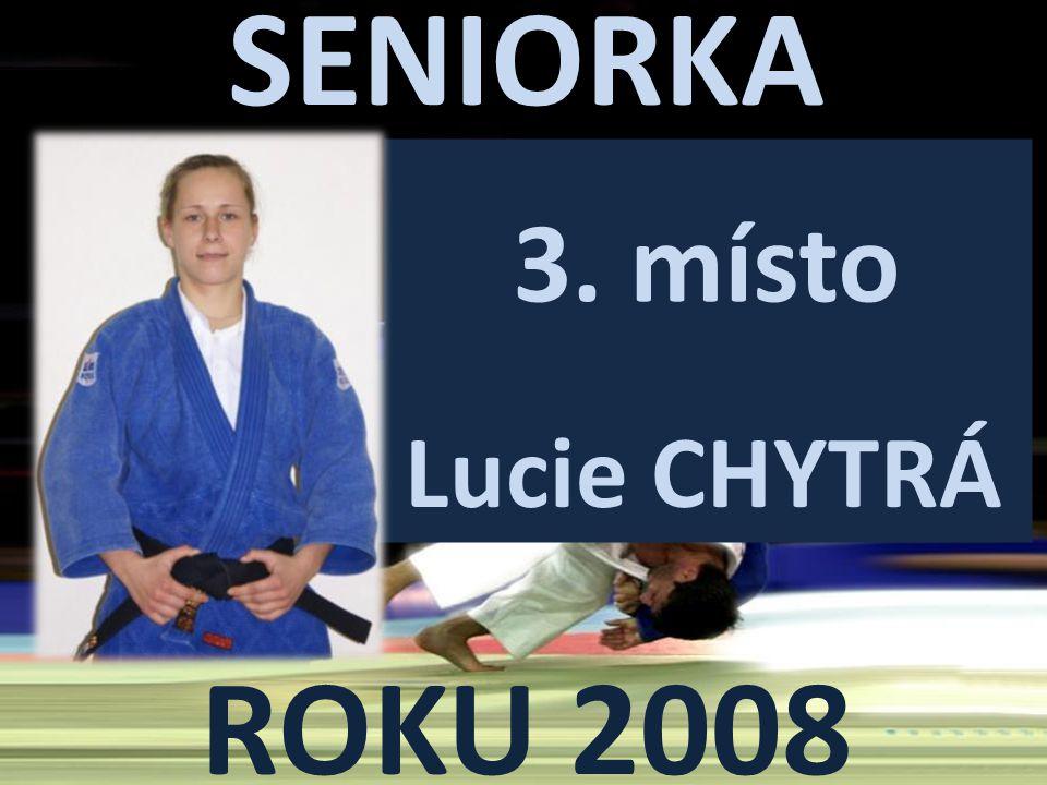 SENIORKA ROKU 2008 3. místo Lucie CHYTRÁ