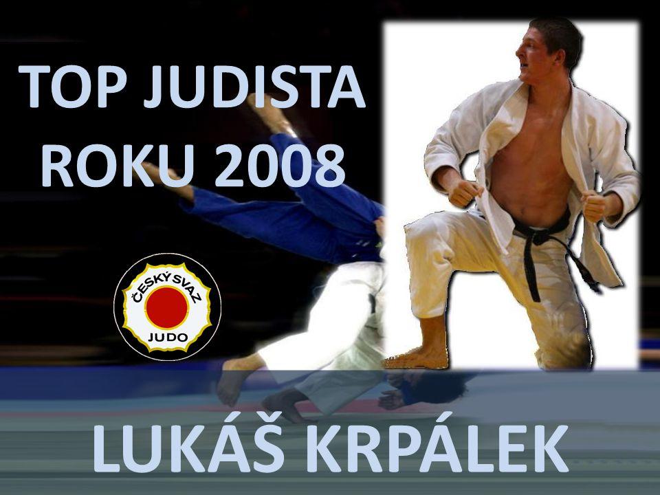 TOP JUDISTA ROKU 2008 Lukáš krpálek