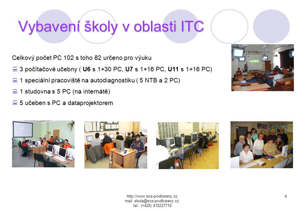 Vybavení školy v oblasti ITC