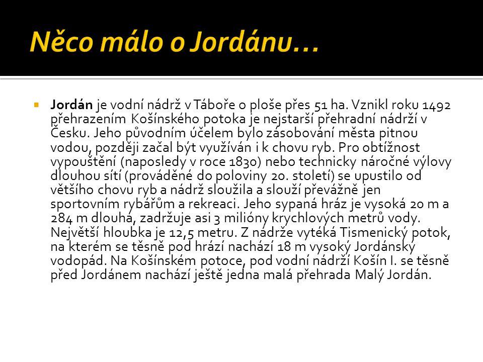 Něco málo o Jordánu…