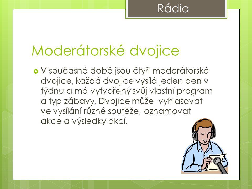 Moderátorské dvojice Rádio