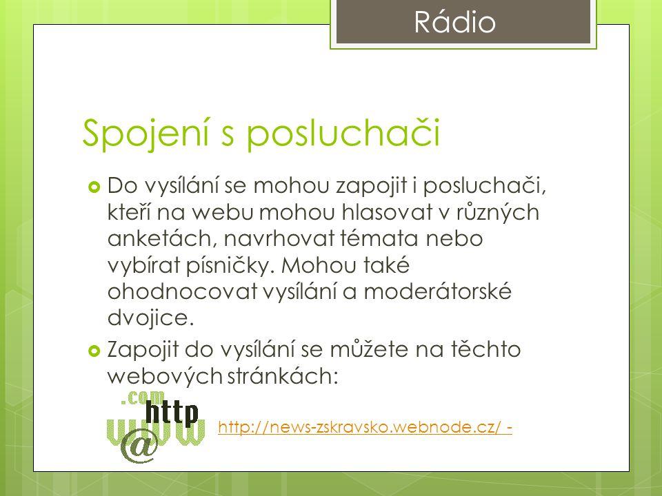 Spojení s posluchači Rádio