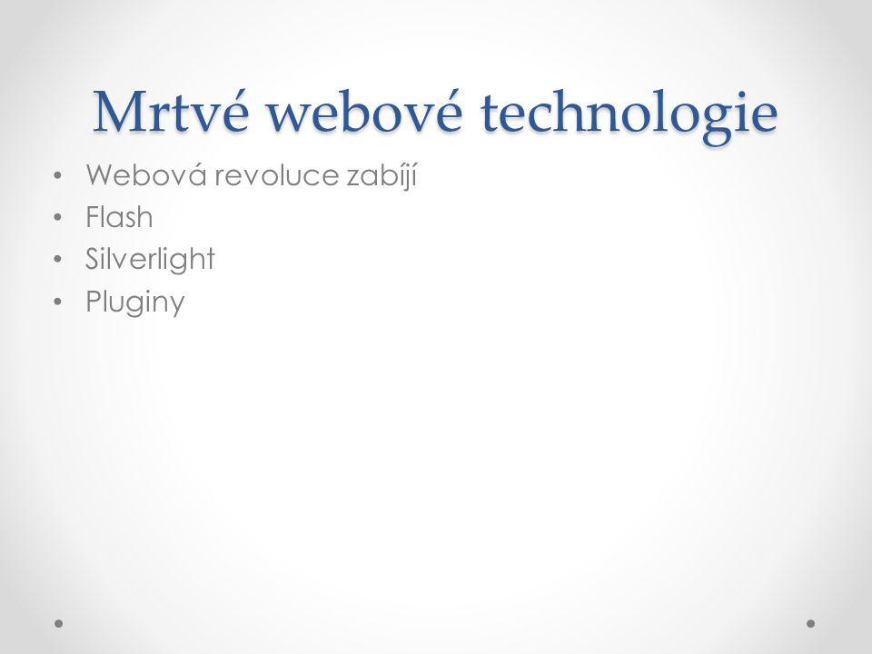 Mrtvé webové technologie