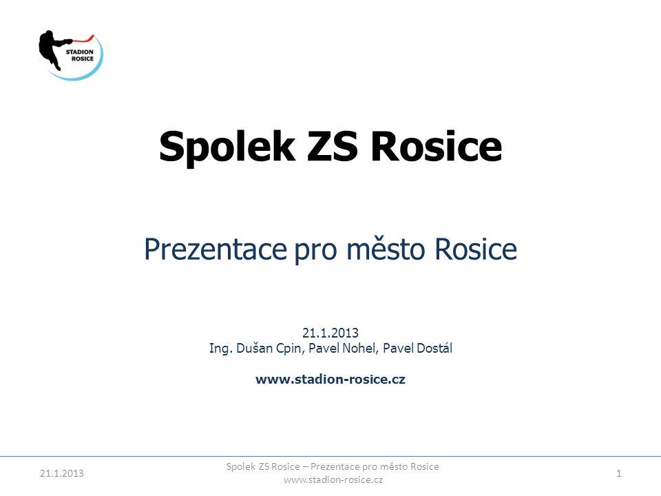 Spolek ZS Rosice Prezentace pro město Rosice