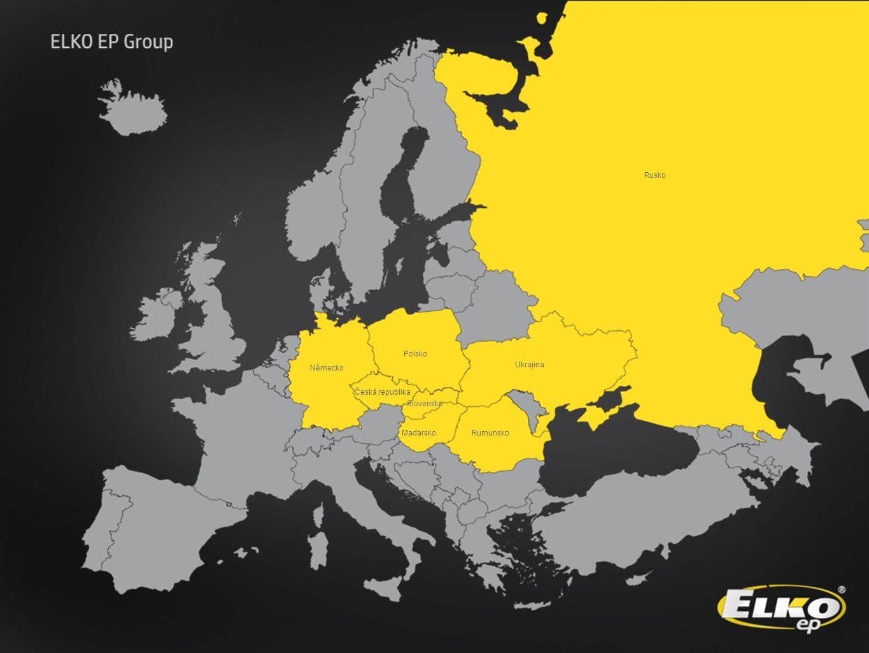 Rusko Polsko Německo Ukrajina Česká republika Slovensko Maďarsko Rumunsko