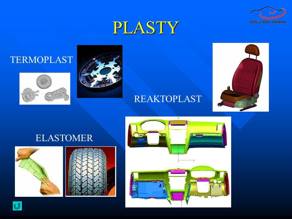 PLASTY TERMOPLAST REAKTOPLAST ELASTOMER