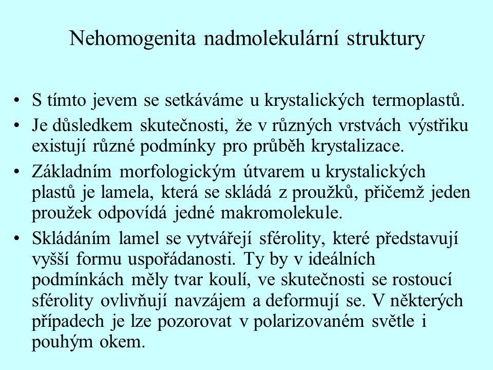 Nehomogenita nadmolekulární struktury