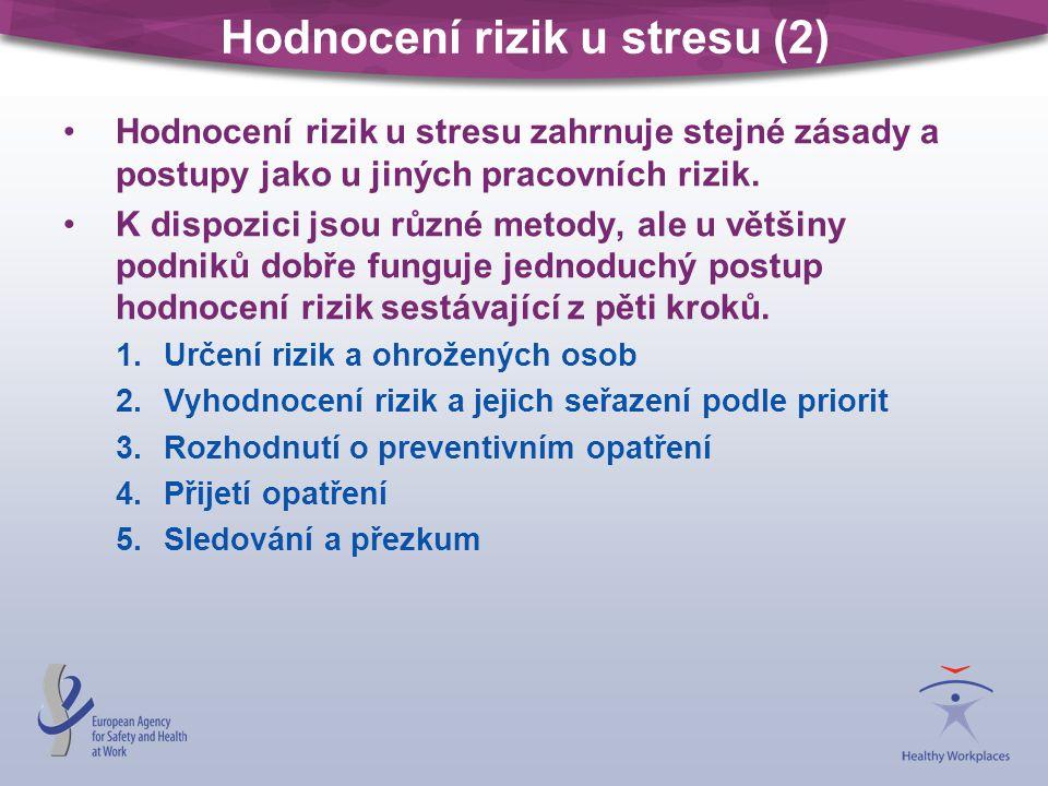 Hodnocení rizik u stresu (2)