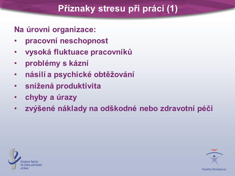 Příznaky stresu při práci (1)