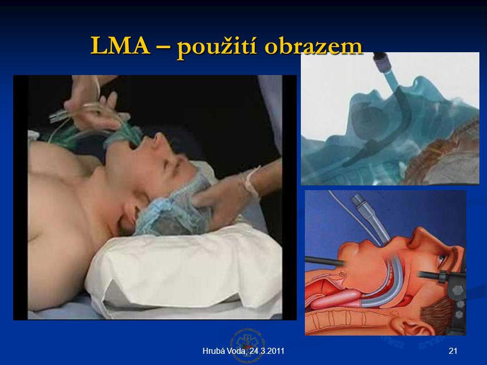 LMA – použití obrazem Hrubá Voda, 24.3.2011