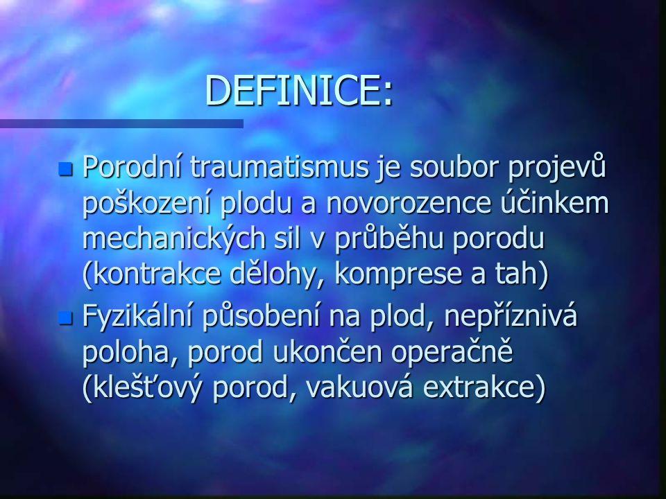 DEFINICE: