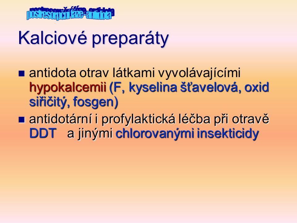 postresorpční fáze - antidota