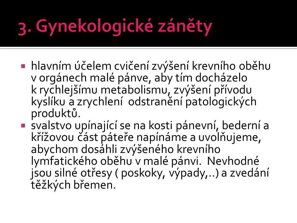 3. Gynekologické záněty