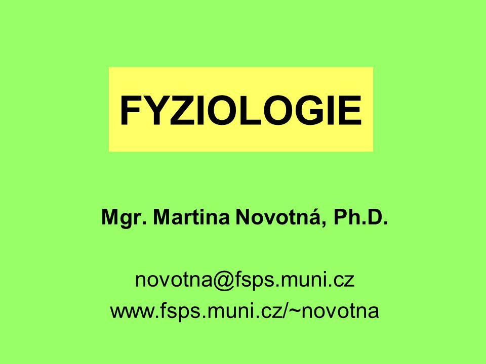 Mgr. Martina Novotná, Ph.D.