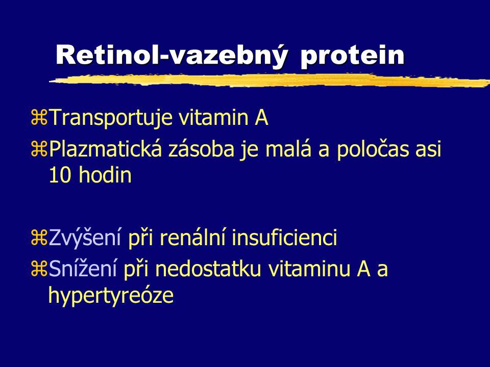 Retinol-vazebný protein