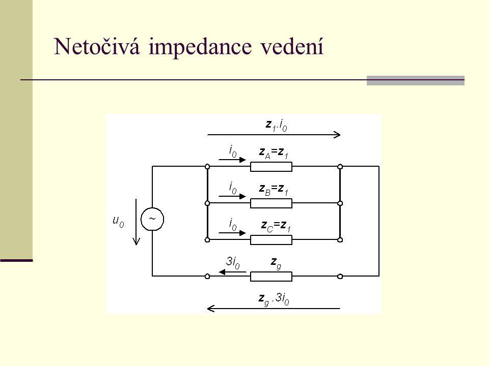 Netočivá impedance vedení