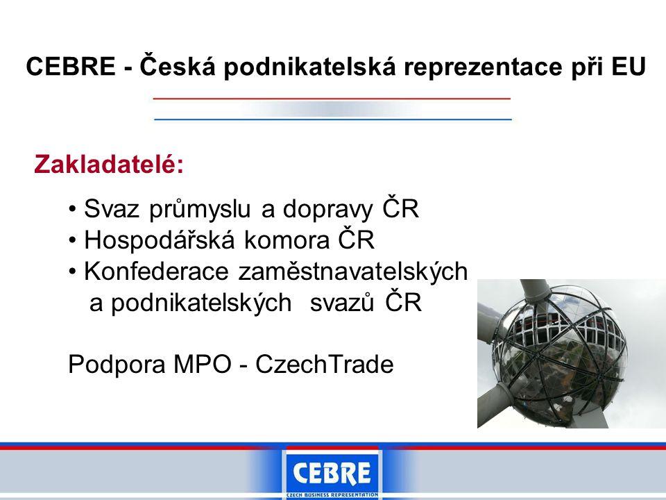 CEBRE - Česká podnikatelská reprezentace při EU