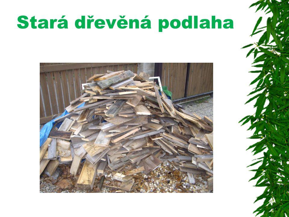 Stará dřevěná podlaha