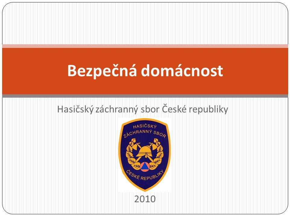 Hasičský záchranný sbor České republiky 2010