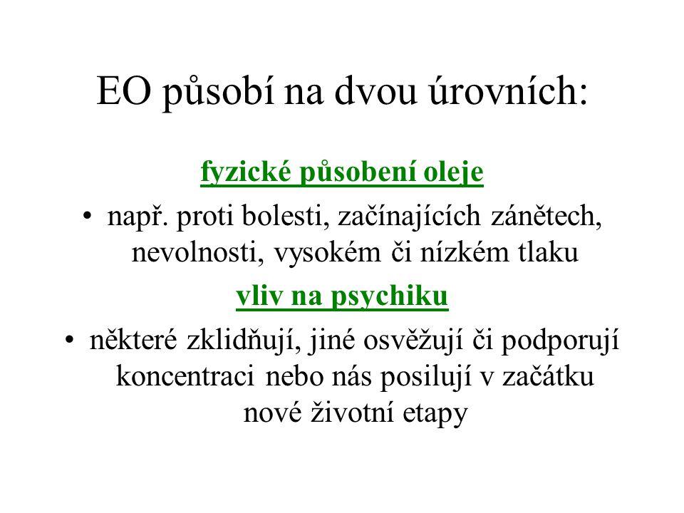 EO působí na dvou úrovních: