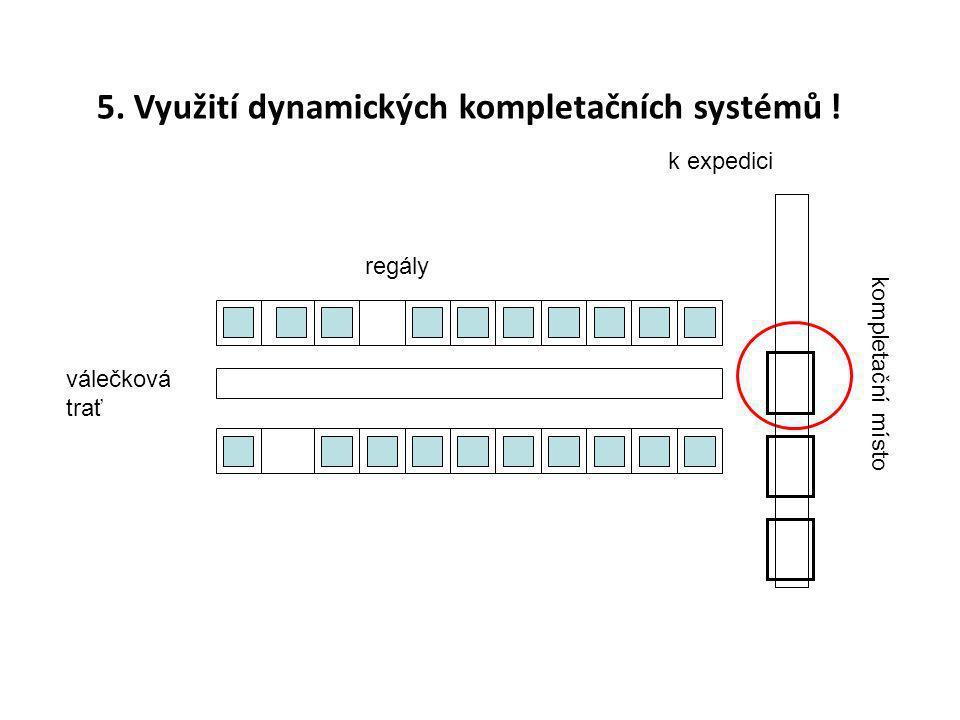 5. Využití dynamických kompletačních systémů !