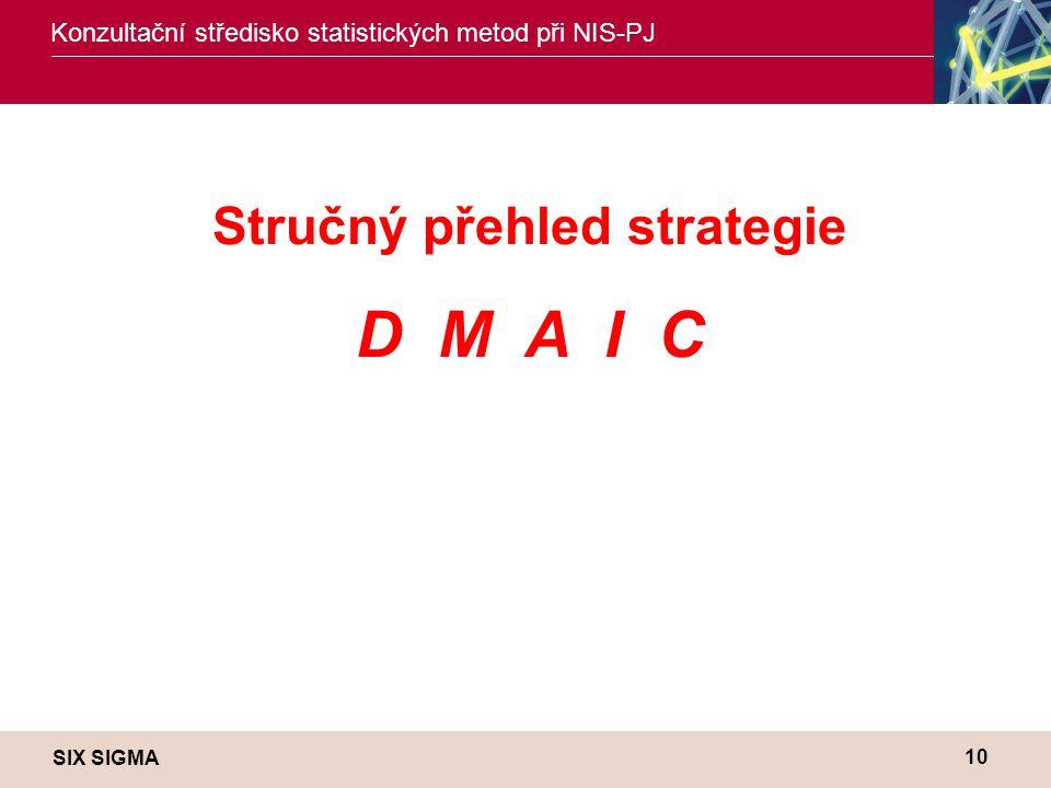 Stručný přehled strategie