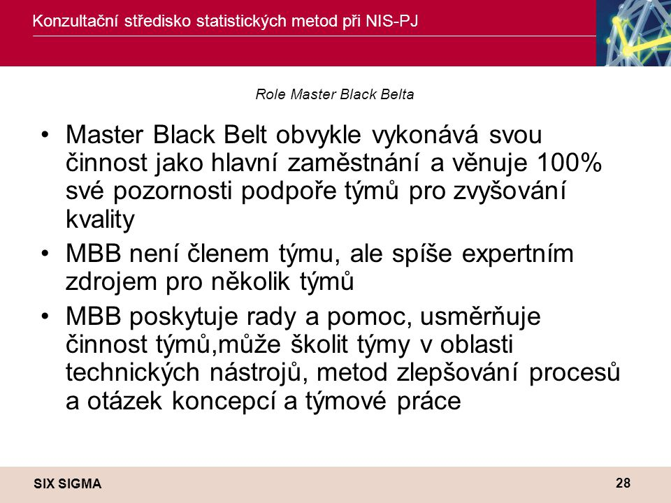 Role Master Black Belta