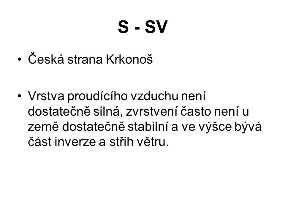 S - SV Česká strana Krkonoš