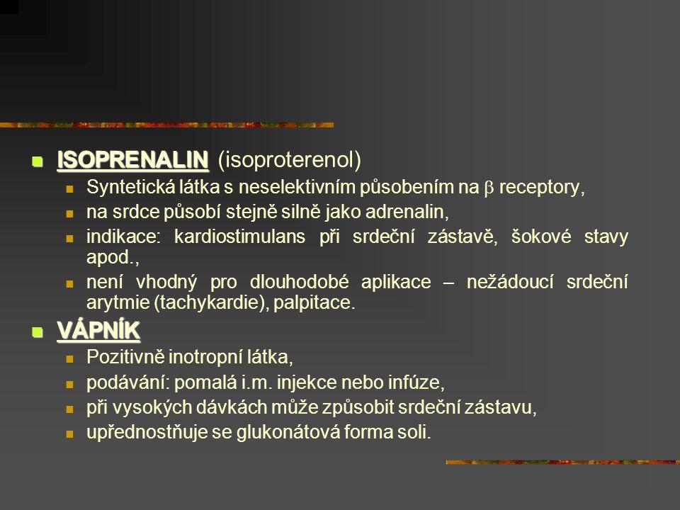 ISOPRENALIN (isoproterenol)