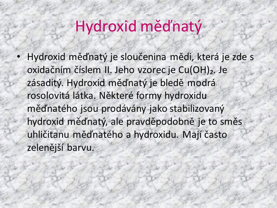 Hydroxid měďnatý