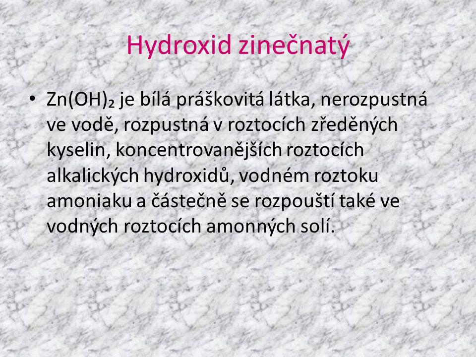 Hydroxid zinečnatý