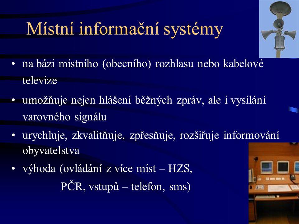Místní informační systémy