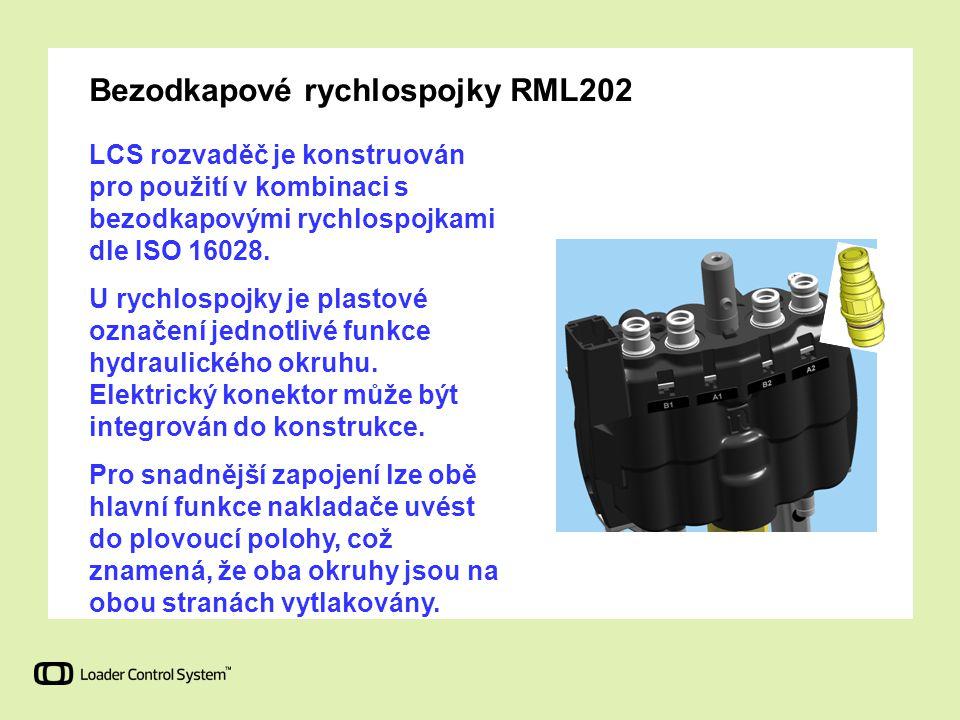 Bezodkapové rychlospojky RML202