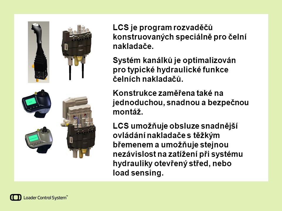 LCS je program rozvaděčů konstruovaných speciálně pro čelní nakladače.