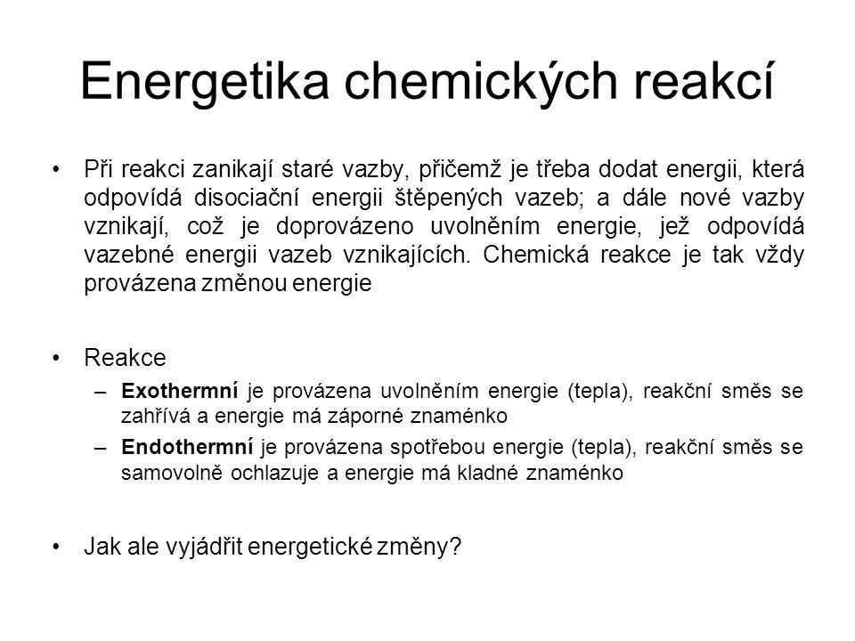 Energetika chemických reakcí